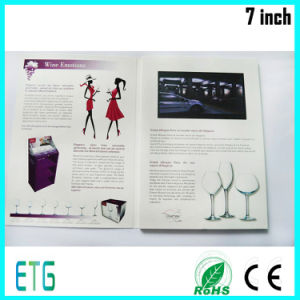 Custom Logo Playing Video Book Cheap Price LCD Video Player Brochure pictures & photos