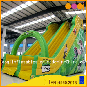 Aoqi Giant Cartoon Kids Toy Arch Inflatable Slide for Sale (AQ1149-6) pictures & photos