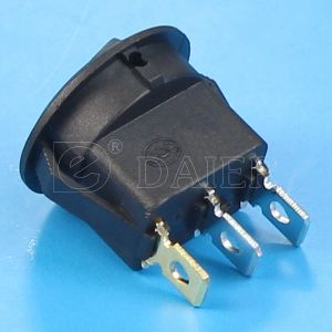 on off Round 12V Rocker Switch with DOT pictures & photos