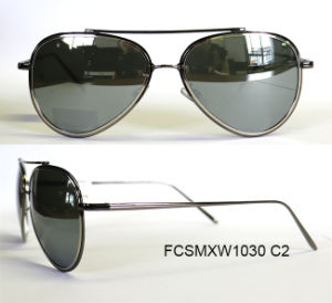 New Arrival Fashion Revo Coated High Quality Metal Sunglasses Unisex pictures & photos