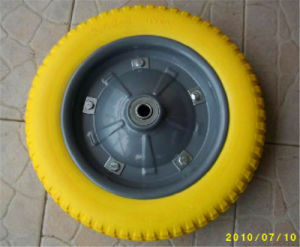 Solid PU Foam Wheel, Wheelbarrow Tire 3.00-8 13X3