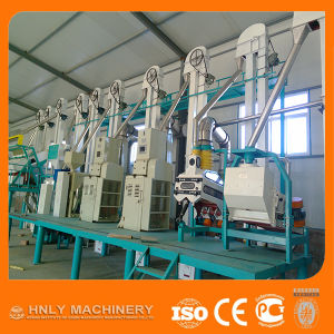 Automatic 10 Ton Per Day Corn Flour Milling Machine Manufacturer pictures & photos