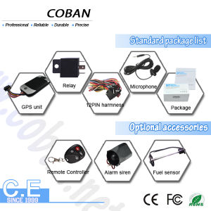 Coban GPS Tracker Tk303 Vehicle Trackers GPS with Engine Cut off System pictures & photos
