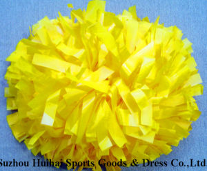 Cheerleading POM POM: Plastic Yellow pictures & photos