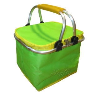 Small Size Picnic Cooler Basket Suit for Shopping Promotion pictures & photos