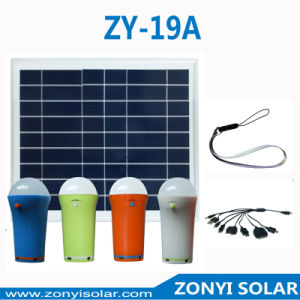 Portable Solar LED Lights Zy-19A 4 Colors pictures & photos