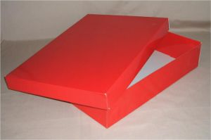 Toptint Luxury Paper Garment Packaging Box with Custom Logo pictures & photos