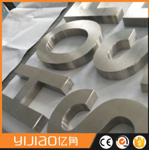 Mirro Finish Laser Cutting Metal Letters pictures & photos
