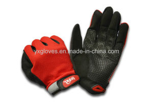 Glove-Racing Glove-Safety Glove-Sport Glove-Protective Glove-Silicon Glove pictures & photos