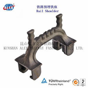 High Quality Sand Casting Rail Shoulder for American Market pictures & photos