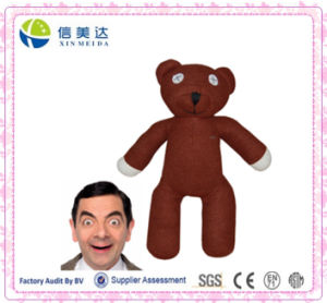 Mr Bean Teddy Bea Stuffed Plush Toy Brown pictures & photos