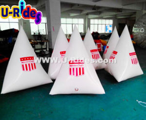 White Triangle Inflatable Float Buoy for Water Events pictures & photos