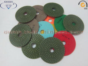 China Diamond Polishing Pads for Granite Marble pictures & photos