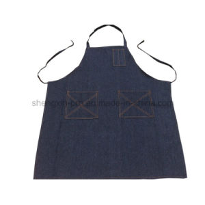 High Quality Jean Apron with Custom Logo pictures & photos