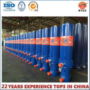 Front-End Telescopic Hydrdaulic Cylinder for Dump Truck pictures & photos