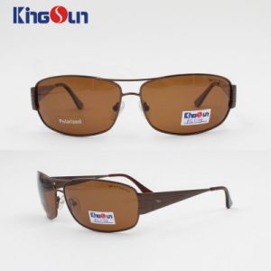Man′s Fashion Style Metal Sunglasses with Polarized Lens Ks1136 pictures & photos