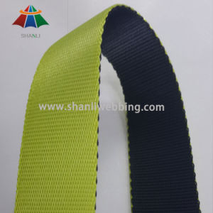 1 Inch Black and Green Striped Nylon Webbing pictures & photos