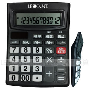 12 Digits Dual Power Desktop Calculator pictures & photos