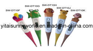 Flexible Tip Cartoon Digital Thermometer (SW-DT10F, G, J, K) pictures & photos