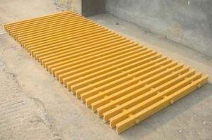 Fiberglass Pultruded Gratings, Bell FRP/GRP Pultrusion Grating pictures & photos