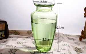 Custom-Made High Quality Glass Flower Vase for Home Decoration pictures & photos