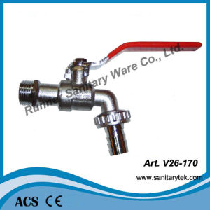 Zinc Alloy Bibcock with Hose Union (V26-170) pictures & photos