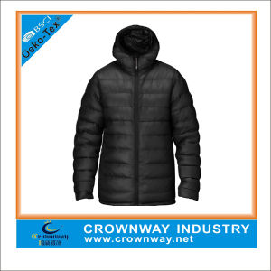 Cool Tailored Hooded Padded Jacket for Men pictures & photos