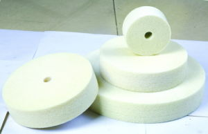 Non-Woven Stainless Steel Buffing Wheel pictures & photos