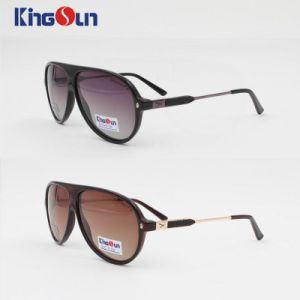 New Fashion Tr90 Unisex High Level Sunglasses Handmade Ks1116 pictures & photos