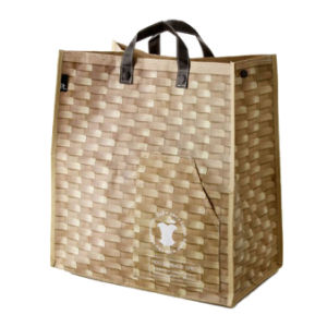 High Quality Recycled PP Woven Tote Shoppiong Bag (LJ-354)