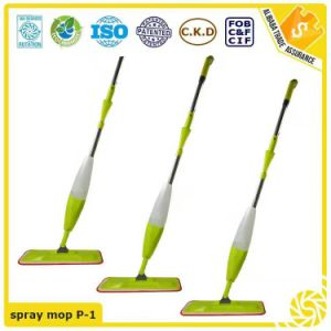 Household Floor Cleaning Water Flat Spray Mop pictures & photos