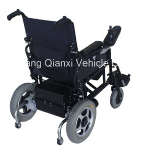 Folding Motorized Wheelchair for Disabled Xfg-103fl pictures & photos