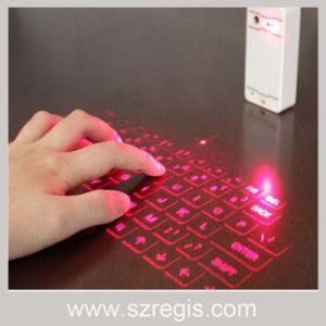 Bluetooth 3.0 and USB Interface Wireless Laser Computer Keyboard pictures & photos