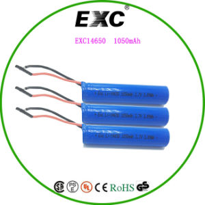 Exc14650 Lithium Battery 1050mAh Li-ion Battery 3.89wh pictures & photos