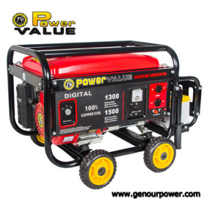 Power Value Manufacture All Types of Portable Gasoline Petrol Electric Generator (CE) pictures & photos