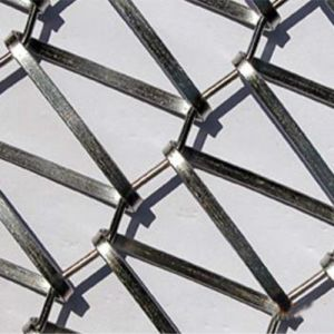 Stainless Steel Flat Wire Conveyor Wire Mesh pictures & photos