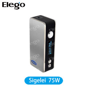 Sigelei 75W Temp Control Box Mod E-Cigarette pictures & photos