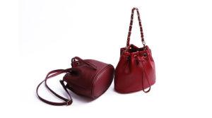 Hb2212. PU Bag Handbag Shoulder Bag Diagonal Package Mini Bucket Bag Fashion Chain Bag