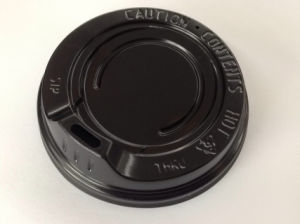 6oz 70mm HIPS Coffee Cup Lid Plastic for Paper Cup pictures & photos