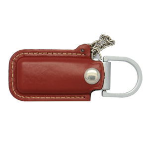 Hot Sale Portable Leather USB Flash Drive (PU) pictures & photos