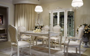 Classical Wooden Diningroom Furniture-Table Chairs