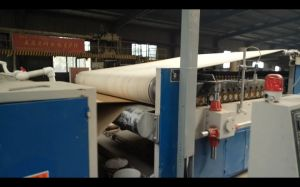 Corrugated Cardboard Making Plant Series: Quick Roll Change Corrugating Machine pictures & photos