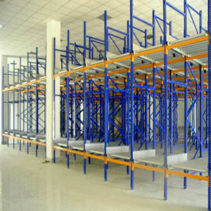 Heavy Duty Storage Gravity Rolling Shelving pictures & photos
