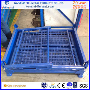 Widely Use for Storage Steel Q235 Customized Fold Wire Box pictures & photos