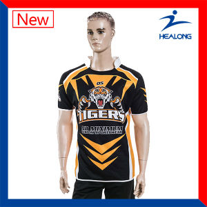 Sublimation Custom Cheap Rugby Jersey Shirts Sportswear Design pictures & photos