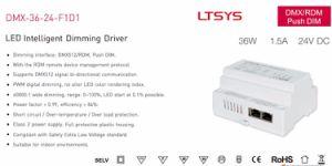 36W 24VDC CV DMX LED Driver DMX-36-24-F1d1 pictures & photos
