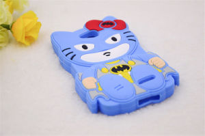 Bow Hello Kitty Bats Silicone Case for LG G3 K10 K5 K7/for Samsung S7 S4 S5 S6 5s Se Phone Accessories (XSY-009) pictures & photos