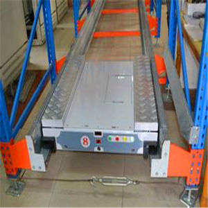 Adjustable Q235 Power Coating Multi-Layer Metal Shuttle Pallet Racking System pictures & photos