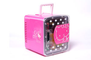 Portable Mini Fridge 8liter DC12V, AC100-240V with Cooling and Warming for Car, Office or Home Use pictures & photos