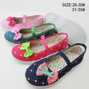Latest Design Girl Casual Shoes Dance Shoes Canvas Shoes (HH150702-15) pictures & photos